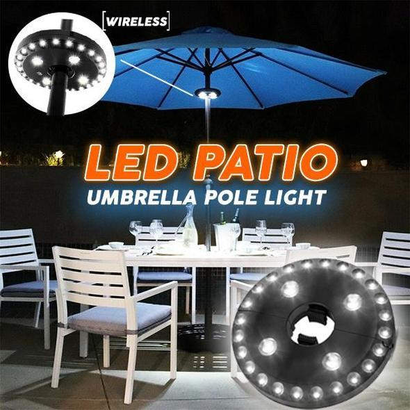 LED Patio Umbrella Pole Light
