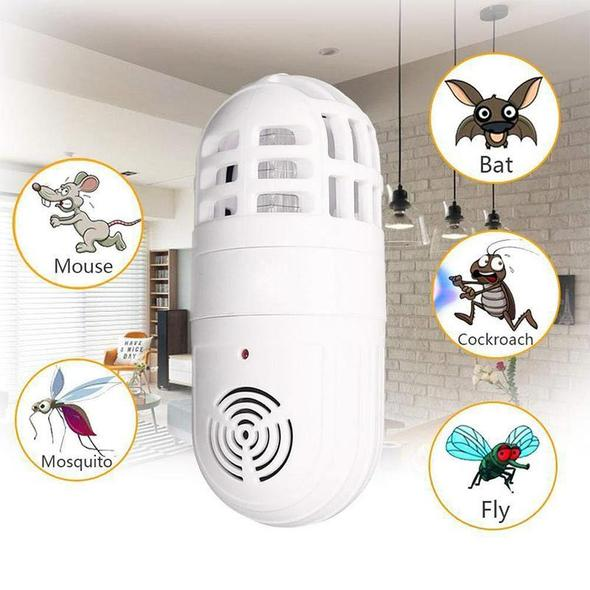 Ultrasonic Two-in-one Insect Repellent - 80% OFF - Buy 2 Free Shipping!