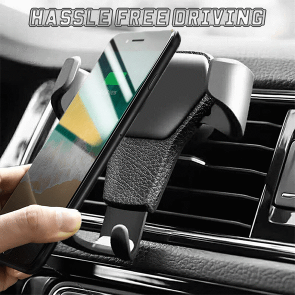 60% OFF- Wireless Automatic Sensor Car Phone Holder & Charger