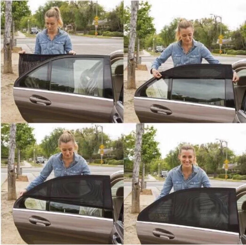 【Best Selling】Universal Car Window Sun Shade (Fits all Cars)