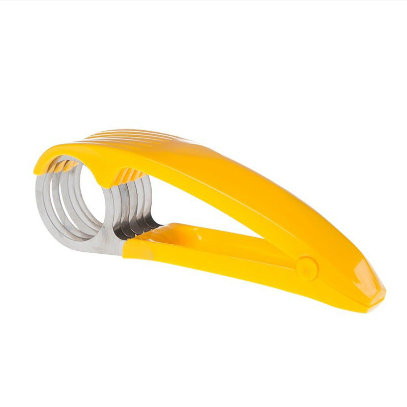 Stainless Steel Banana Cutter & Slicer