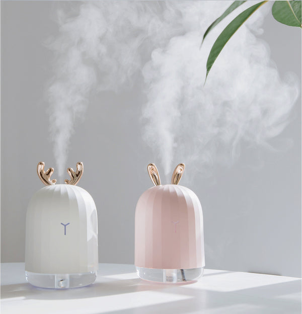 LED Antler Steaming Face Humidifier