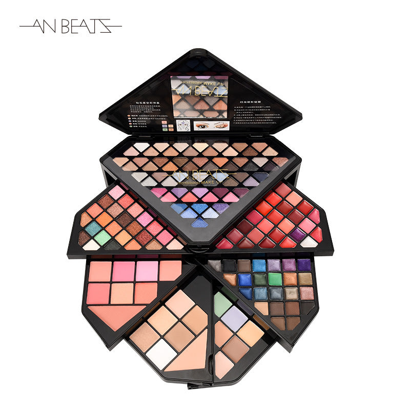 Anbeats Diamond Makeup Box Professional Makeup Tool Beginners Must Haves