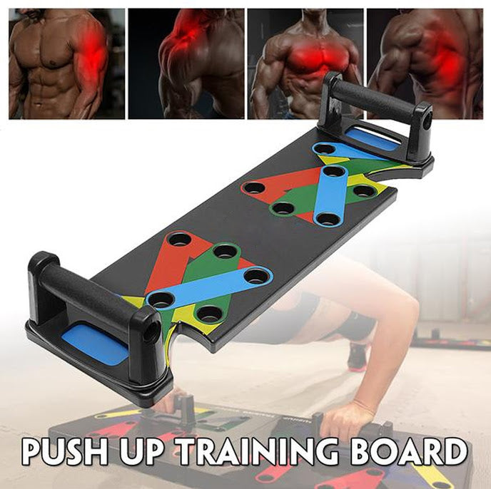Push Up  Board 9 System/Multi-functional Push Up Training Board