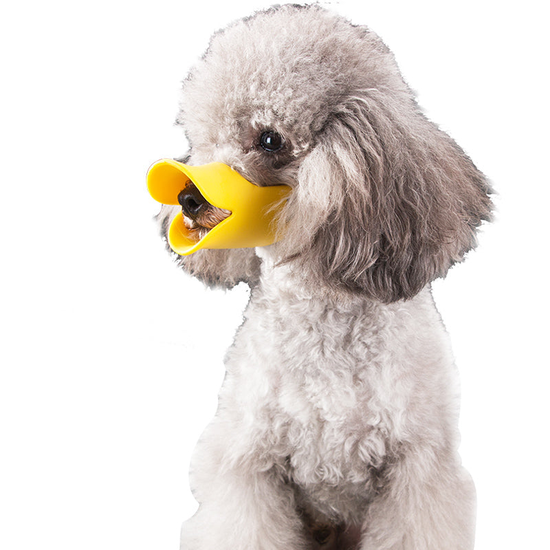 Cute Duck Mouth-Shaped Dog Mouth Cover