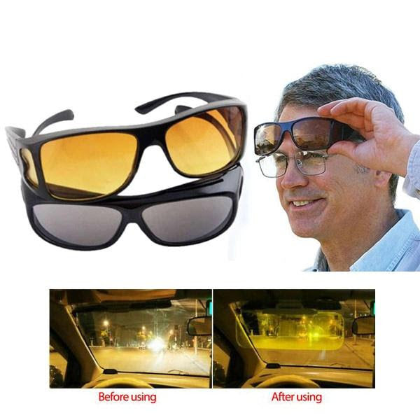 (BUY 1 TAKE 1 Promo) HD Vision Anti-Glare Day and Night View Driving Glasses