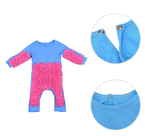 Baby Mop Romper and Onesie for Boys and Girls