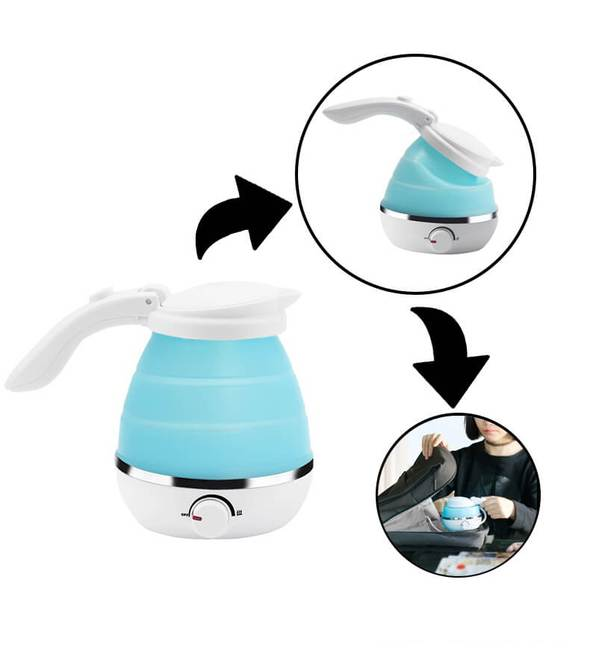 Foldable Electric Silicone Kettle