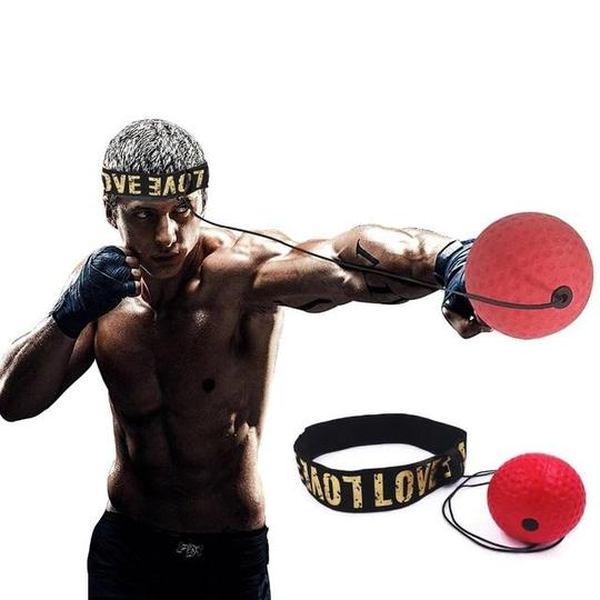 Silicone Reading Speed Head-mounted Boxing Magic Fight Training Boxing Supplies
