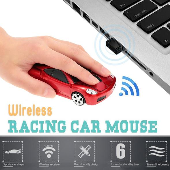 Wireless Racing Car Mouse