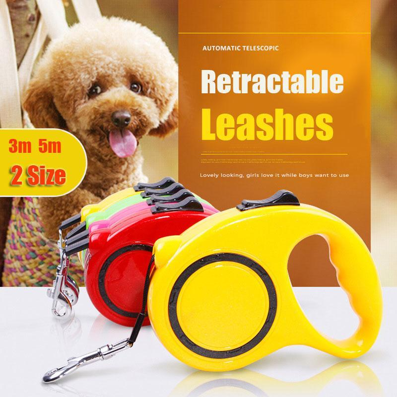 Two Size Pet Retractable Leashes