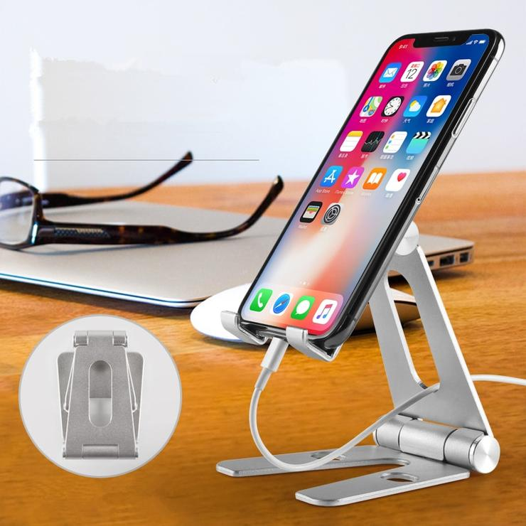 The Pro Nomad Foldable Aluminium Phone/Tablet Holder