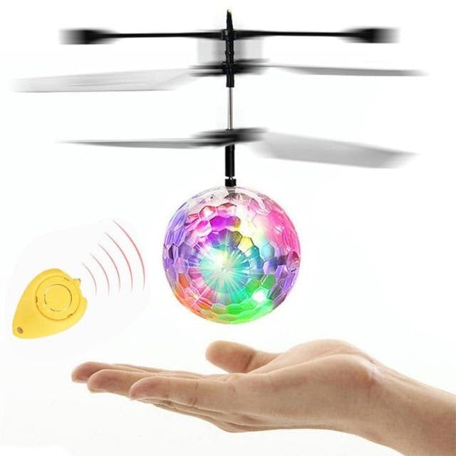 Magic Flying Ball (Motion Sensor & LED)