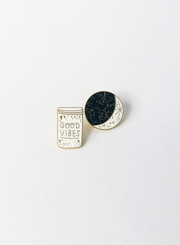 Pins set – Good Vibes