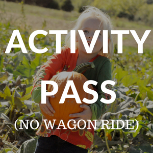 Single Day Activity Pass (No Wagon Ride)