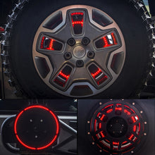 "14"" Cyclone Series Spare Tire LED Brake Light For 07-18 Jeep Wrangler"