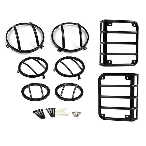 Black Light Guard Kit for 2007 - 2018 Jeep Wrangler JK