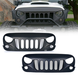 Transformer Grille With Or Without Mesh for Jeep Wrangler 2007-2018