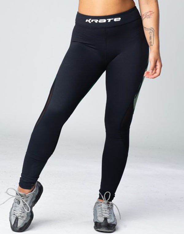 Krate Mesh Army Legging Front