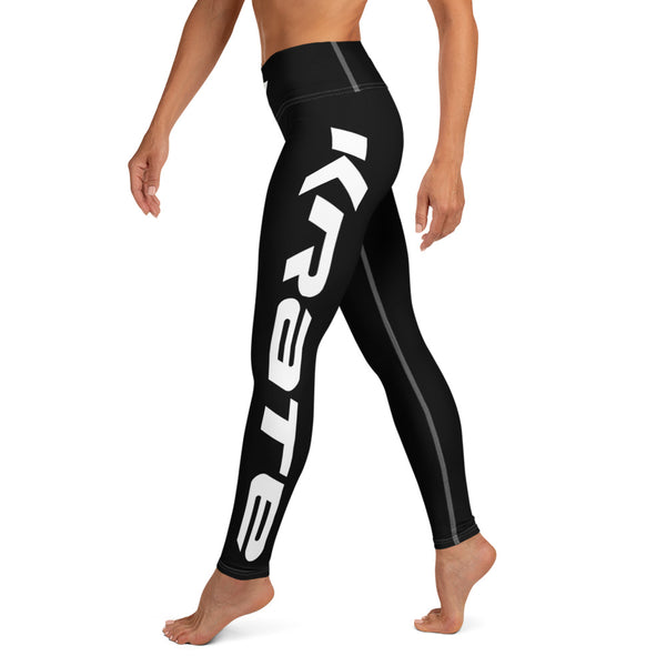 Krate Legging Raised waistband black