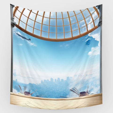 Airship Backdrop