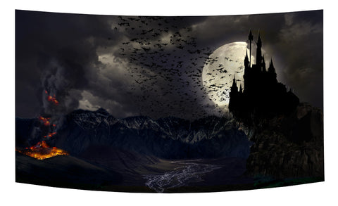 Castle Draculea Backdrop - Wallachia Countryside