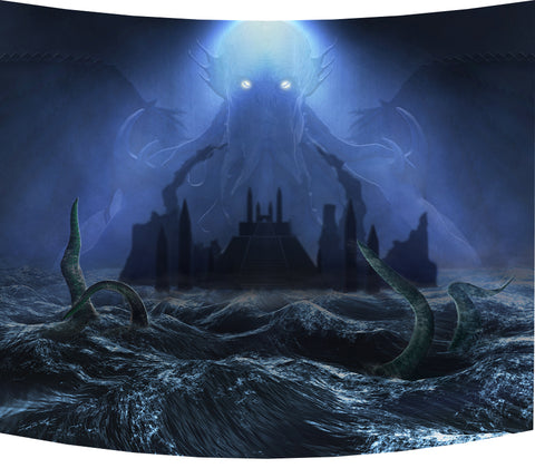 Call Of Cthulhu, Blue - Backdrop