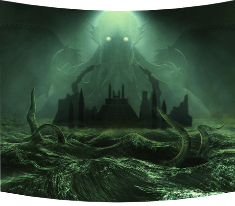 Call Of Cthulhu, Green - Backdrop
