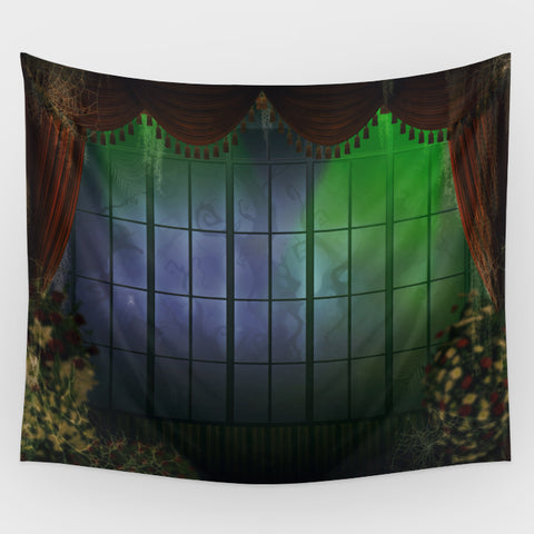 Haunted Mansion - Coffin Room  Backdrop