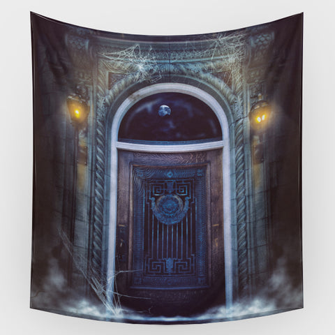 Mausoleum Door Backdrop