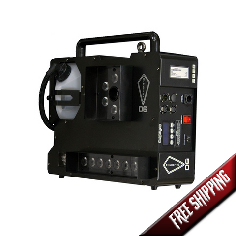 Hyperion D6 1600W (Dual Color/2 Smoke) ‐ Upshot Fog Machine w/ HEX LEDS