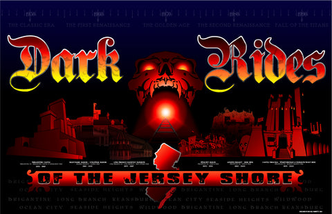 Dark Rides of the Jersey Shore - 2021 Edition Poster