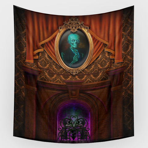 Haunted Mansion - Dorian Gray Backdrop