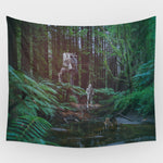 Star Wars - Endor Backdrop