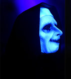 Ghostly Habit (Evil Nun) Mask - UV Reactive Mask