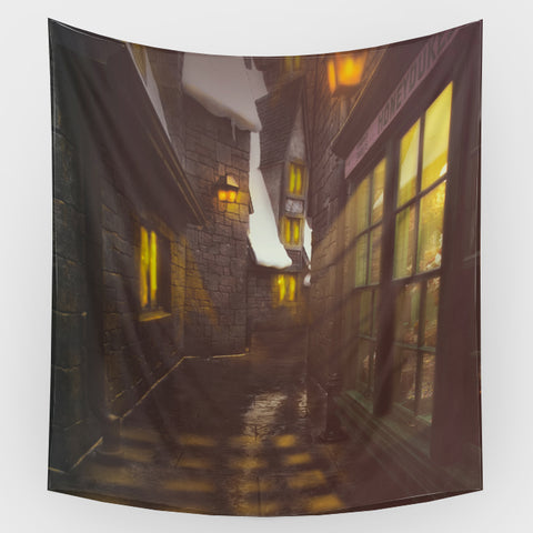 Harry Potter - Hogsmead Backdrop
