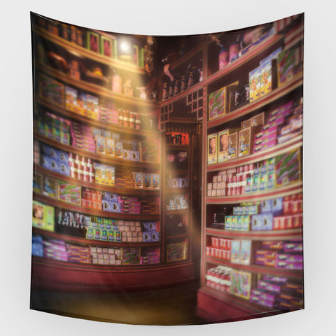 Harry Potter - Lollies Backdrop