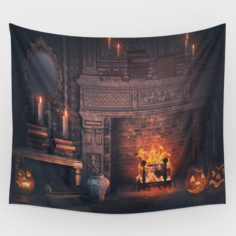 Halloween Harth Backdrop