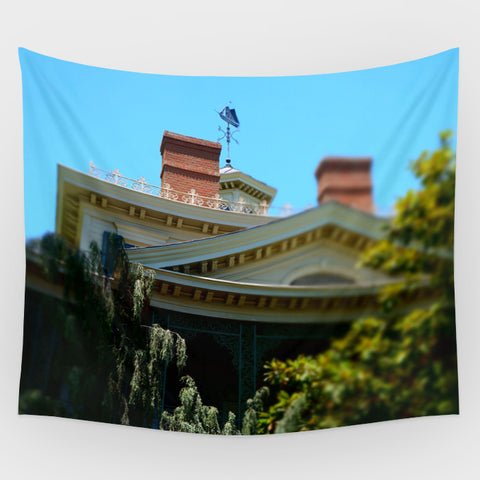 Haunted Mansion - Haunted Mansion Exterior 3 Backdrop