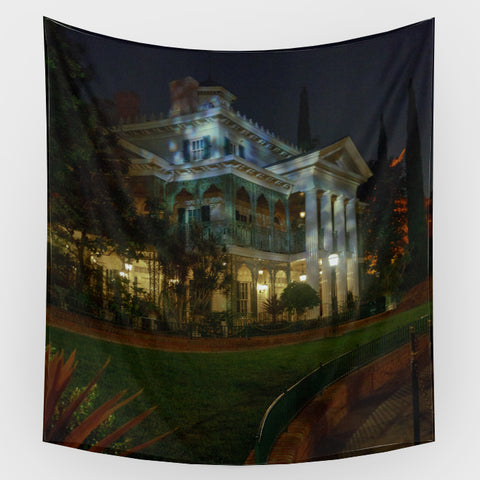 Haunted Mansion - Haunted Mansion Exterior 4 Backdrop