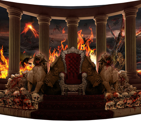 Lucifer's Throne - Backdrop