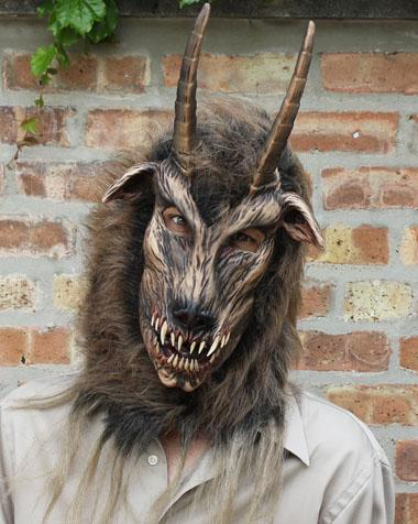 Got Your Goat Devil Demon Mask