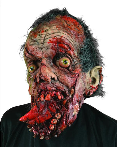 Bite Your Tongue Zombie Mask