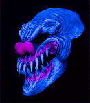 Evil Last Laugh Clown Mask - UV Reactive Mask