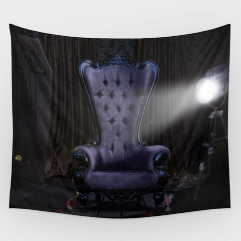 Royal Throne Backdrop