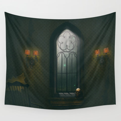 Haunted Room - Tapestries Backdrop