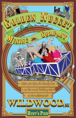 Golden Nugget of Wildwood - Poster