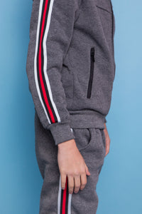 Tommy Tracksuit - Dark Grey
