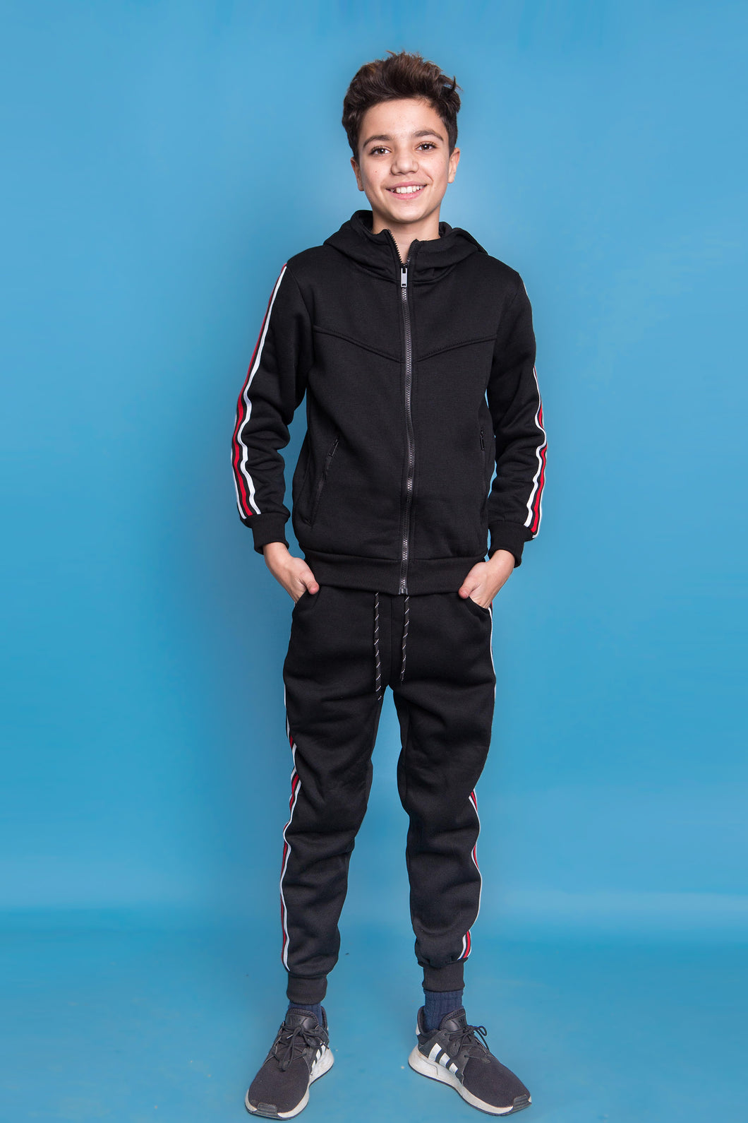 Tommy Tracksuit - Black