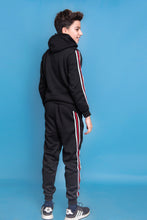Load image into Gallery viewer, Tommy Tracksuit - Black